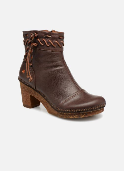 Boots en enkellaarsjes Art Amsterdam 1053 Bruin detail