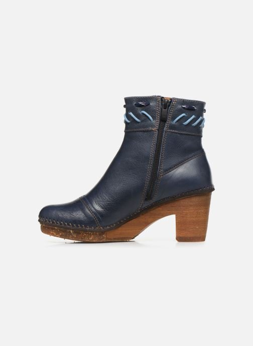 Ankle boots Art Amsterdam 1053 Blue front view