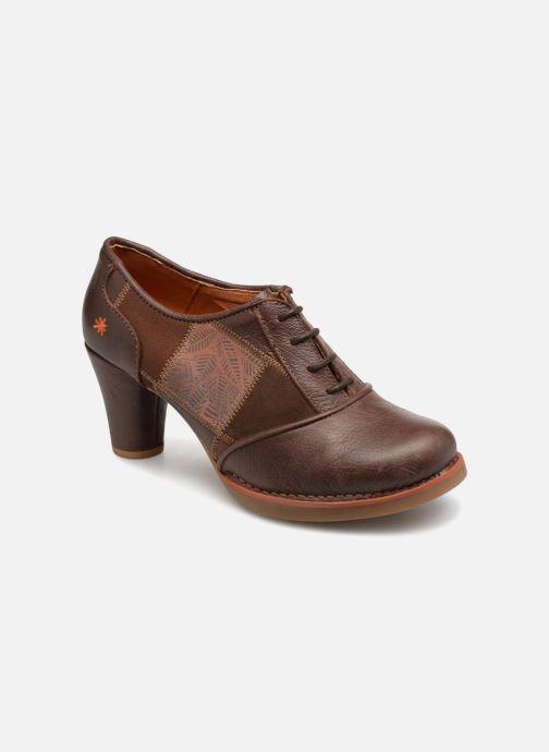 Ankelstøvler Art St.Tropez 1074 Brun detaljeret billede af skoene