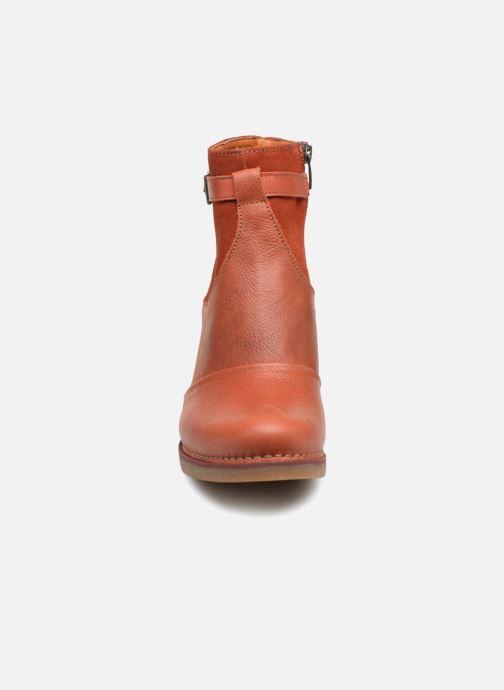 Stiefeletten & Boots Art St.Tropez 1075 rot schuhe getragen