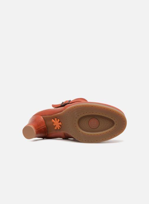 Stiefeletten & Boots Art St.Tropez 1075 rot ansicht von oben