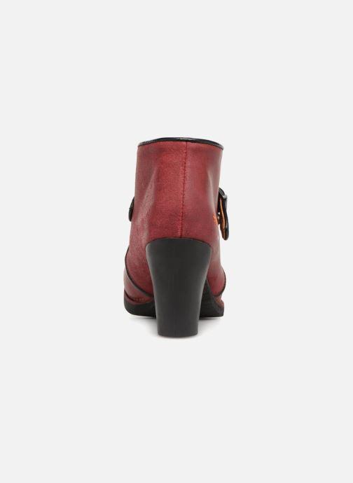 Stiefeletten & Boots Art Gran Via 1141 weinrot ansicht von rechts