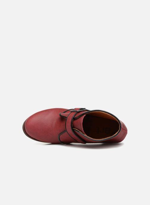 Stiefeletten & Boots Art Gran Via 1141 weinrot ansicht von links