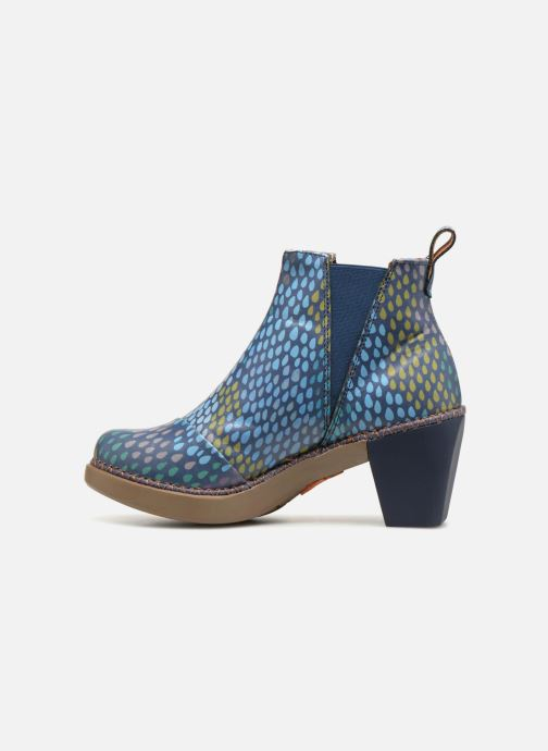 Bottines et boots Art Madrid 1151 Bleu vue face