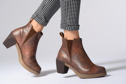 Bottines et boots Art Madrid 1151 Marron vue bas / vue portée sac