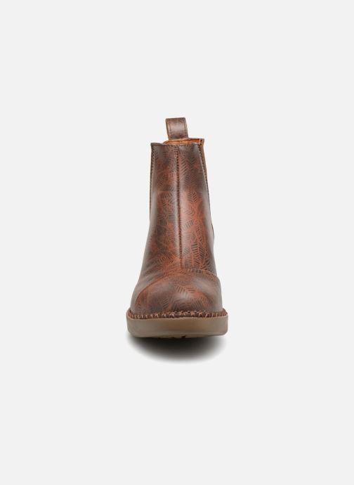 Bottines et boots Art Madrid 1151 Marron vue portées chaussures