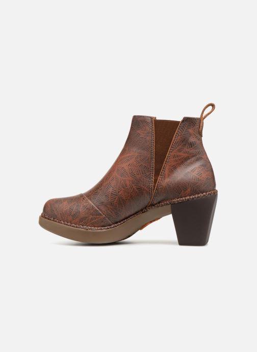 Boots en enkellaarsjes Art Madrid 1151 Bruin voorkant