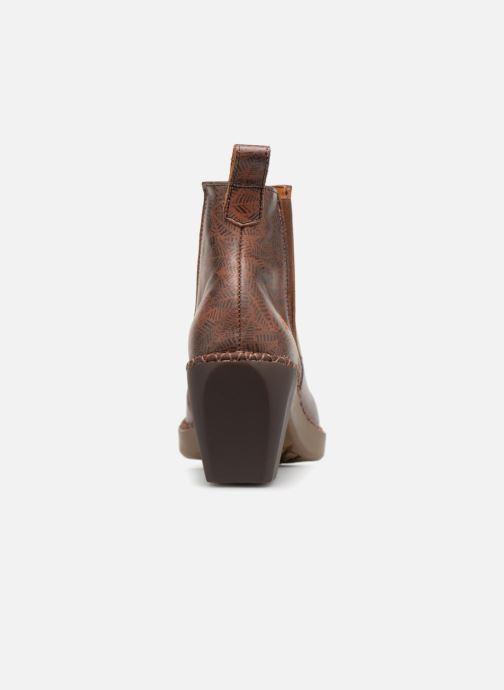 Boots en enkellaarsjes Art Madrid 1151 Bruin rechts