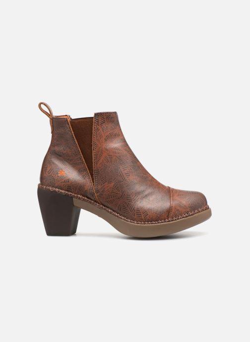 Boots en enkellaarsjes Art Madrid 1151 Bruin achterkant