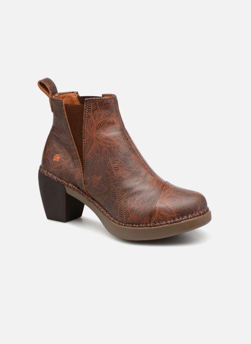Boots en enkellaarsjes Art Madrid 1151 Bruin detail