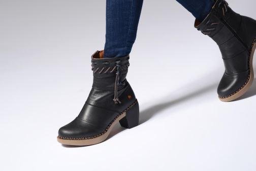 Stiefeletten & Boots Art Madrid 1153 schwarz ansicht von unten / tasche getragen