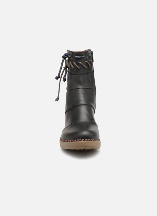 Bottines et boots Art Madrid 1153 Noir vue portées chaussures