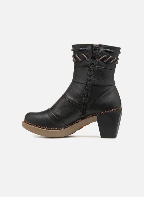 Bottines et boots Art Madrid 1153 Noir vue face