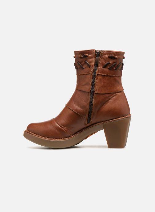 Bottines et boots Art Madrid 1153 Marron vue face