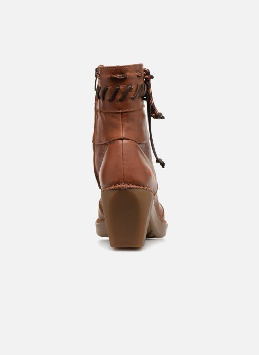 Bottines et boots Art Madrid 1153 Marron vue droite