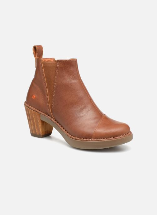 Boots en enkellaarsjes Art Sol 1161 Bruin detail