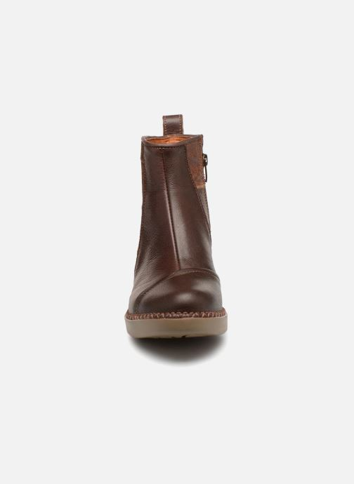 Stiefeletten & Boots Art Sol 1162 braun schuhe getragen