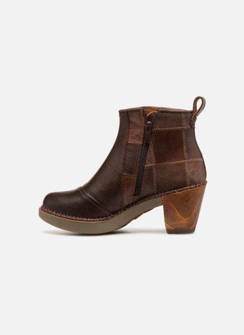 Stiefeletten & Boots Art Sol 1162 braun ansicht von vorne