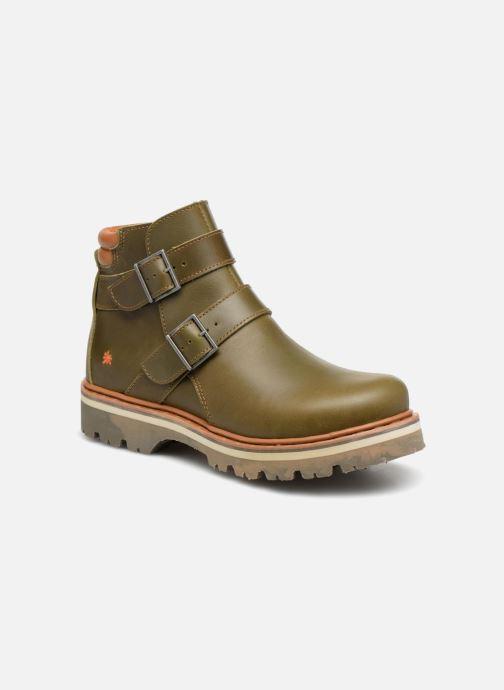 Ankelstøvler Art Soma 1183 W Grøn detaljeret billede af skoene