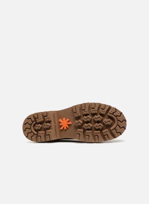 Chaussures à lacets Art Marina 1186 Marron vue haut