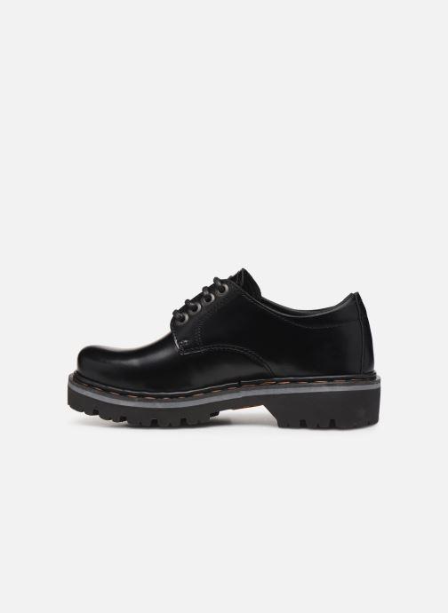 Zapatos con cordones Art Marina 1186 Negro vista de frente