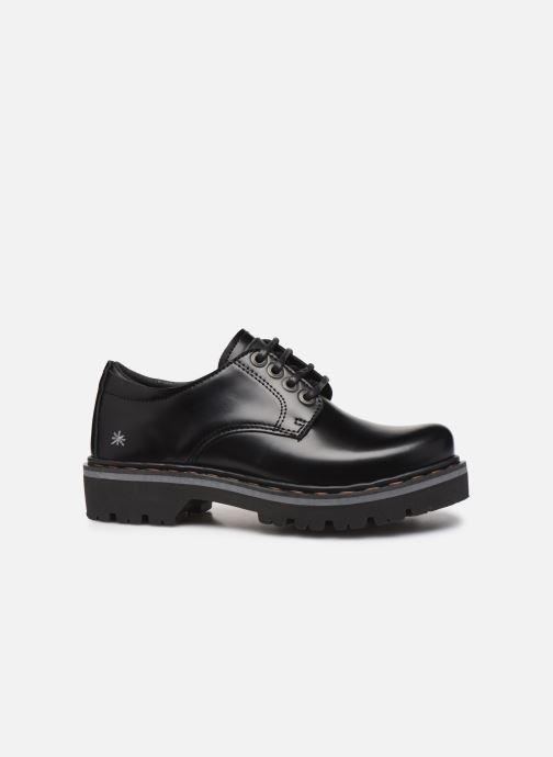Zapatos con cordones Art Marina 1186 Negro vistra trasera