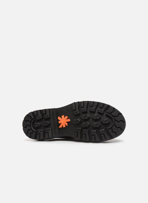 Zapatos con cordones Art Marina 1186 Negro vista de arriba