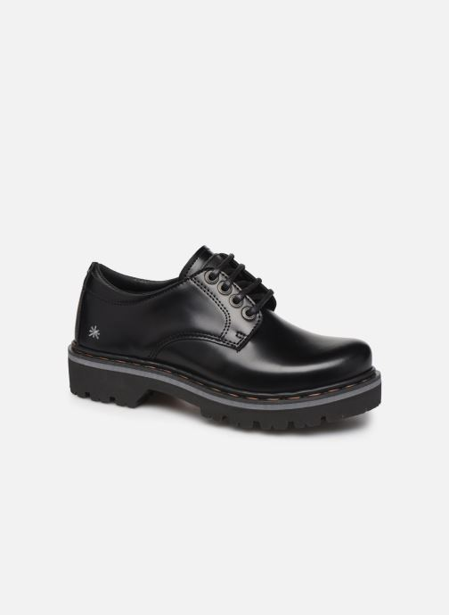 Zapatos con cordones Art Marina 1186 Negro vista de detalle / par