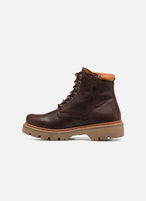 Bottines et boots Art Marina 1187 W Marron vue face