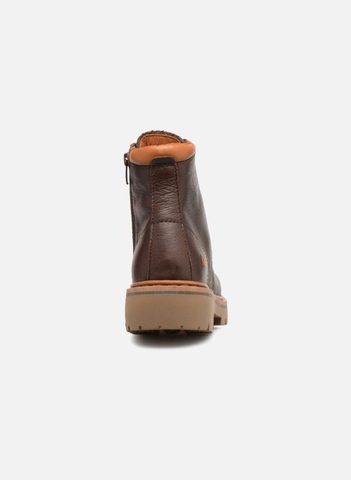 Boots en enkellaarsjes Art Marina 1187 W Bruin rechts