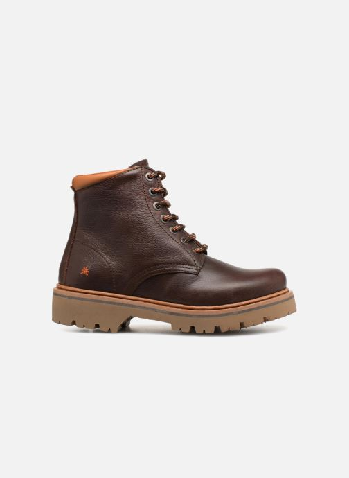 Boots en enkellaarsjes Art Marina 1187 W Bruin achterkant