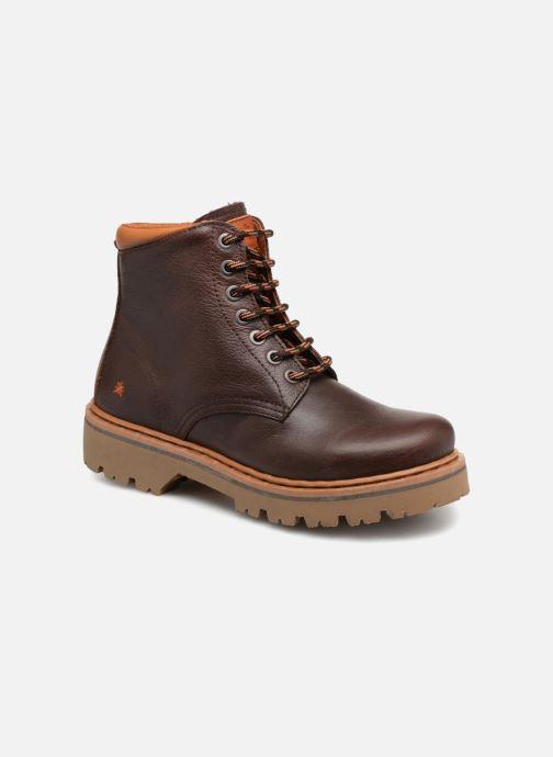 Boots en enkellaarsjes Art Marina 1187 W Bruin detail