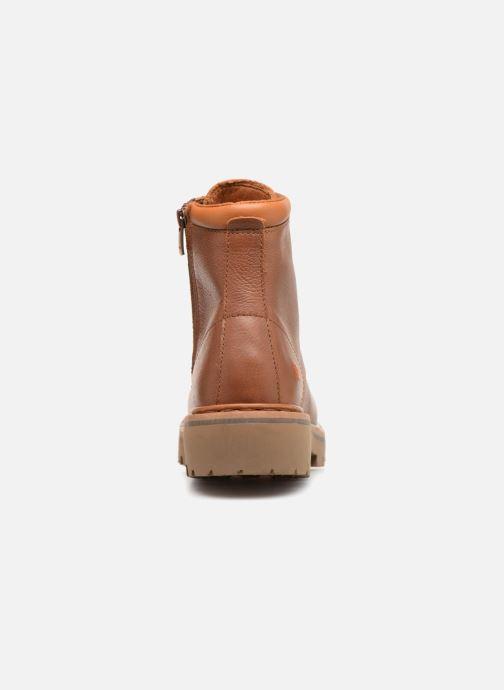 Bottines et boots Art Marina 1187 W Marron vue droite