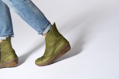 Bottines et boots El Naturalista Funghi N380 Vert vue bas / vue portée sac