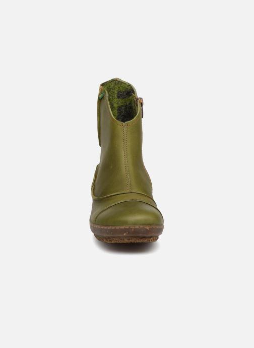 Bottines et boots El Naturalista Funghi N380 Vert vue portées chaussures