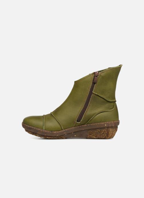 Bottines et boots El Naturalista Funghi N380 Vert vue face