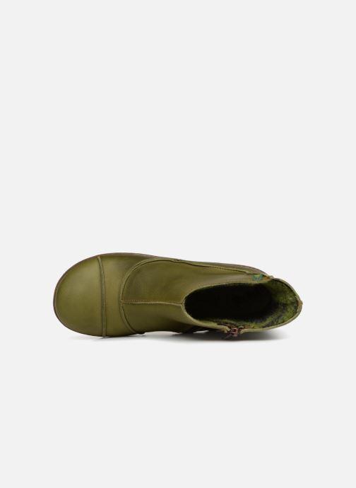 Bottines et boots El Naturalista Funghi N380 Vert vue gauche