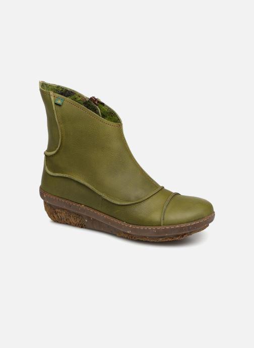 Bottines et boots El Naturalista Funghi N380 Vert vue détail/paire