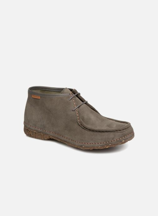 Ankle boots El Naturalista Angkor N913 Grey detailed view/ Pair view