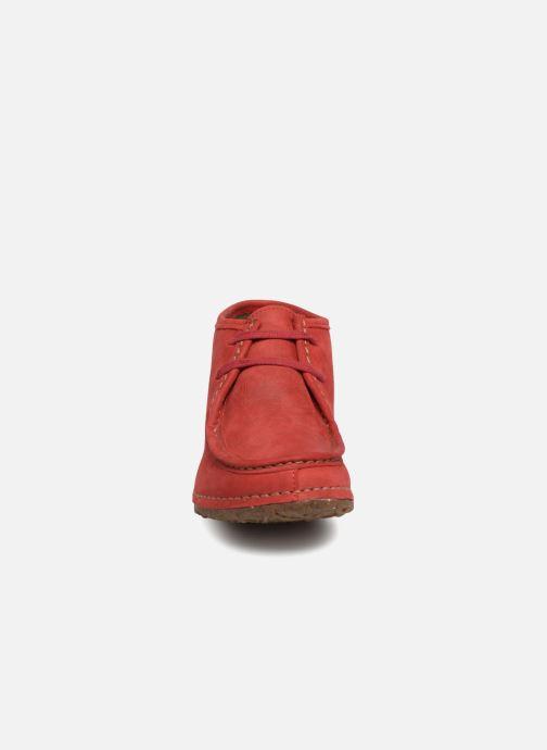 Stivaletti e tronchetti El Naturalista Angkor N915 Rosso modello indossato