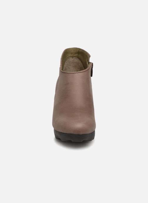 Stiefeletten & Boots El Naturalista Octopus NC06 grau schuhe getragen