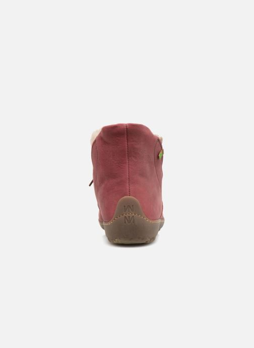 Ankle boots El Naturalista Bee ND17 Pink view from the right