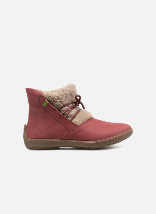 Ankle boots El Naturalista Bee ND17 Pink back view