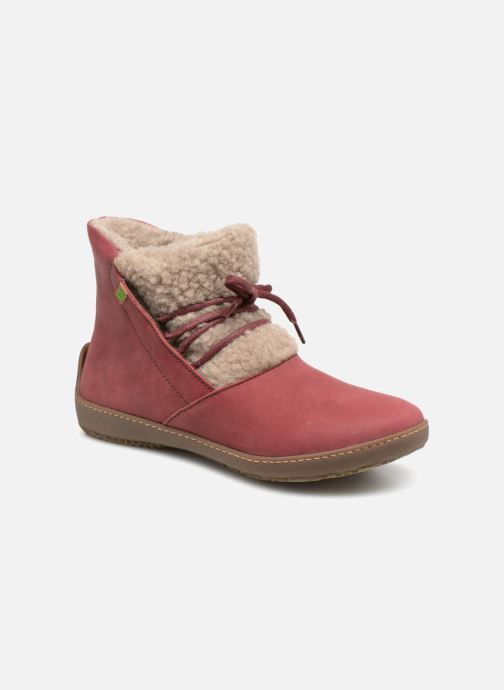 Ankle boots El Naturalista Bee ND17 Pink detailed view/ Pair view