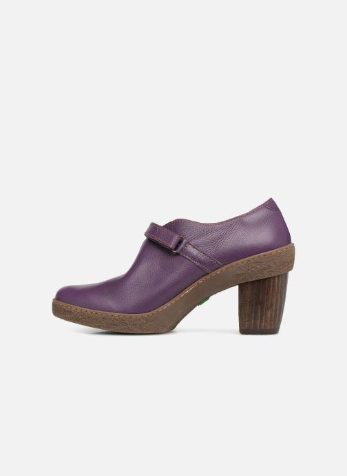High heels El Naturalista Lichen NF73 Purple front view
