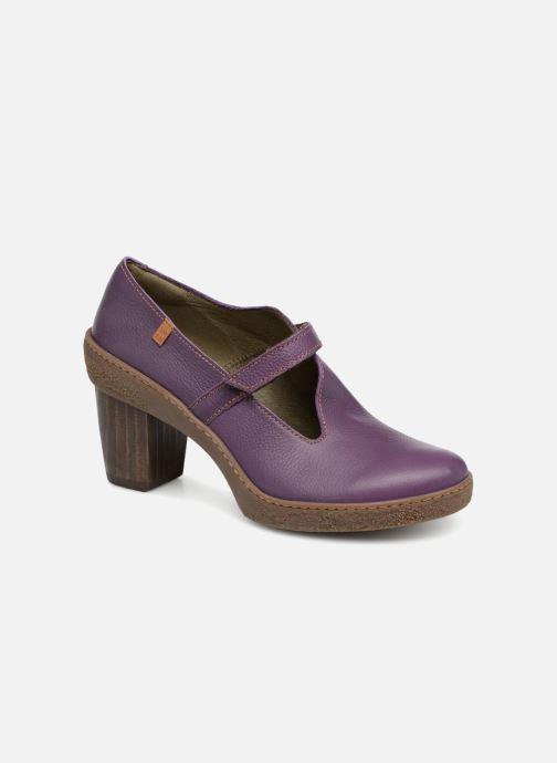High heels El Naturalista Lichen NF73 Purple detailed view/ Pair view