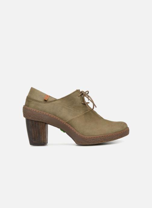 Zapatos con cordones El Naturalista Lichen NF70 Verde vistra trasera