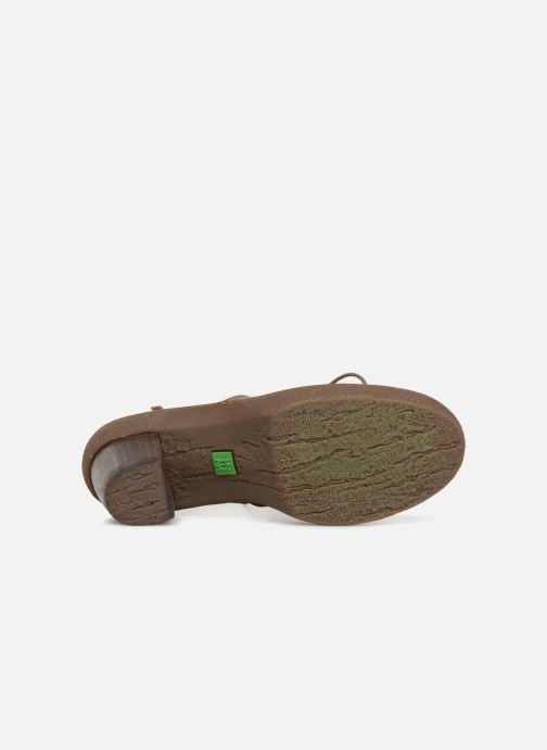 Zapatos con cordones El Naturalista Lichen NF70 Verde vista de arriba