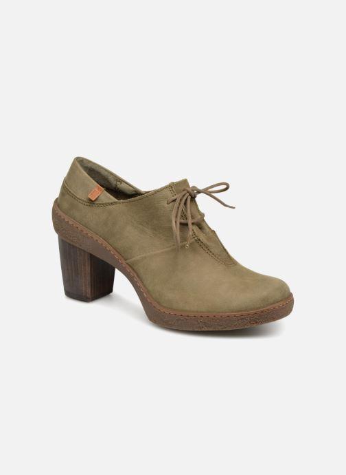 Zapatos con cordones El Naturalista Lichen NF70 Verde vista de detalle / par