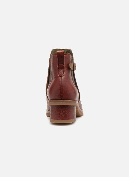 Stiefeletten & Boots El Naturalista Kentia N5104 rot ansicht von rechts